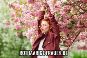kurze rote Haare Frau