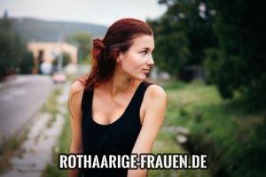 rote haare grüne augen